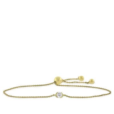 Ikuma Canadian Diamond Bolo Bracelet 14K, 1/4 ct.