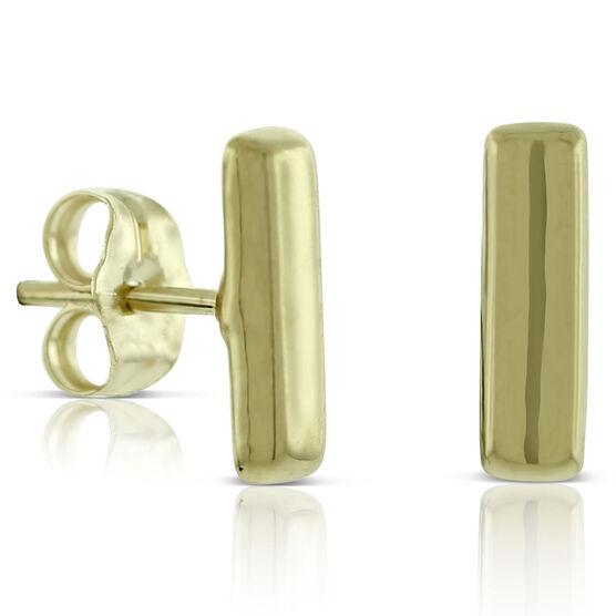 Bar Earrings 14K