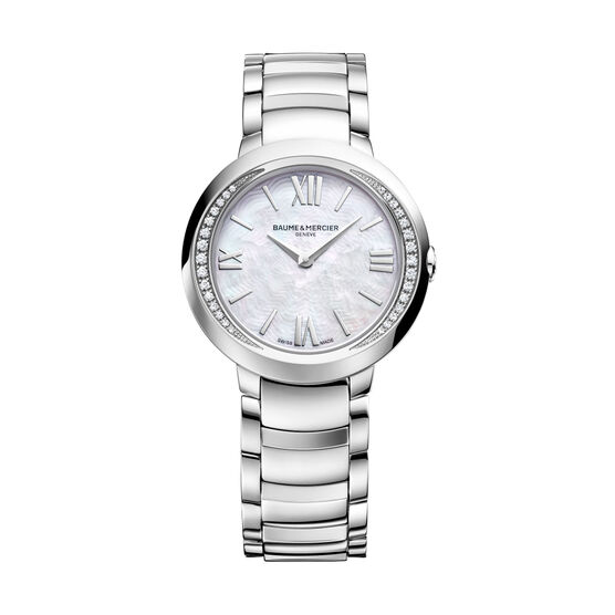 Baume & Mercier PROMESSE Diamond 10160 Ladies Watch, 30mm