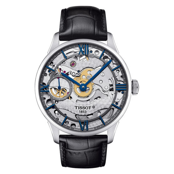 Tissot Chemin Des Tourelles Squelette T-Classic Mechanical Watch