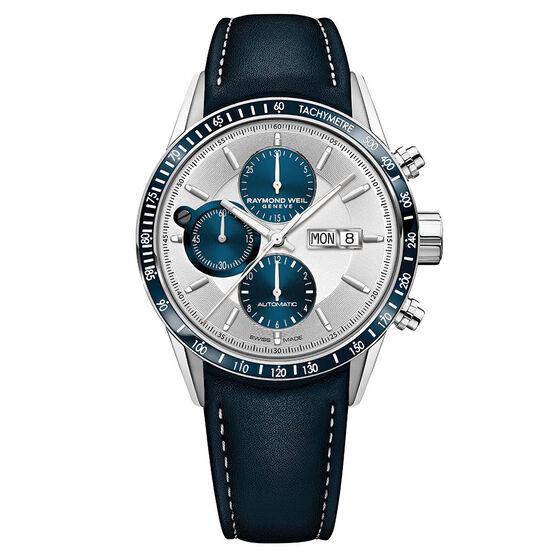 Raymond Weil Freelancer Automatic Chronograph Watch, 43.5mm