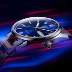 TAG Heuer Carrera Calibre 5 Auto Blue Steel Watch, 41mm