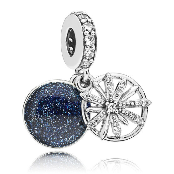 Pandora Dazzling Wishes CZ & Enamel Dangle Charm