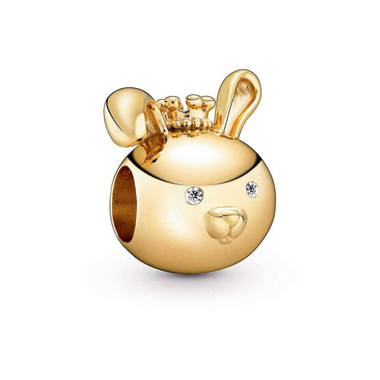 Pandora Shining Rabbit CZ Charm