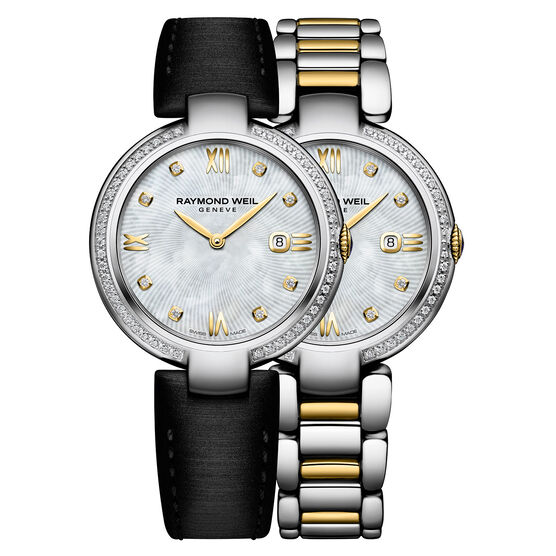 Raymond Weil Shine Two-Tone Diamond Watch