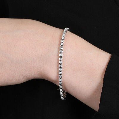 Diamond Bracelet 14K, 2 ctw.