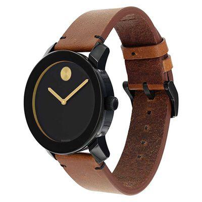 Movado Bold TR90 Black Ion Watch