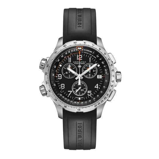 Hamilton Khaki Aviation X-Wind Chrono Quartz GMT Watch