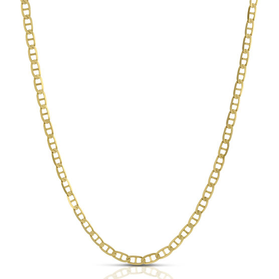 Mariner Link Chain Necklace 14K, 24""