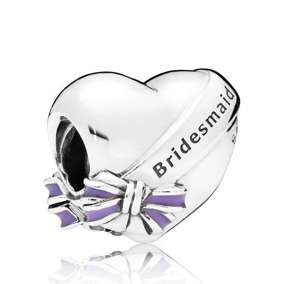 PANDORA Best Bridesmaids Enamel Charm | Tuggl