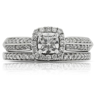 Ikuma Canadian Diamond Wedding Set 14K