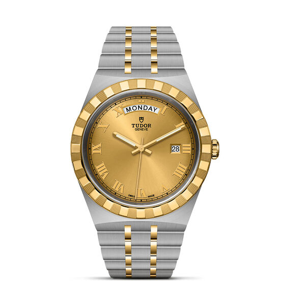 Royal 41mm Steel and Gold