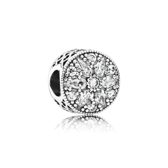 PANDORA Radiant Bloom CZ Charm