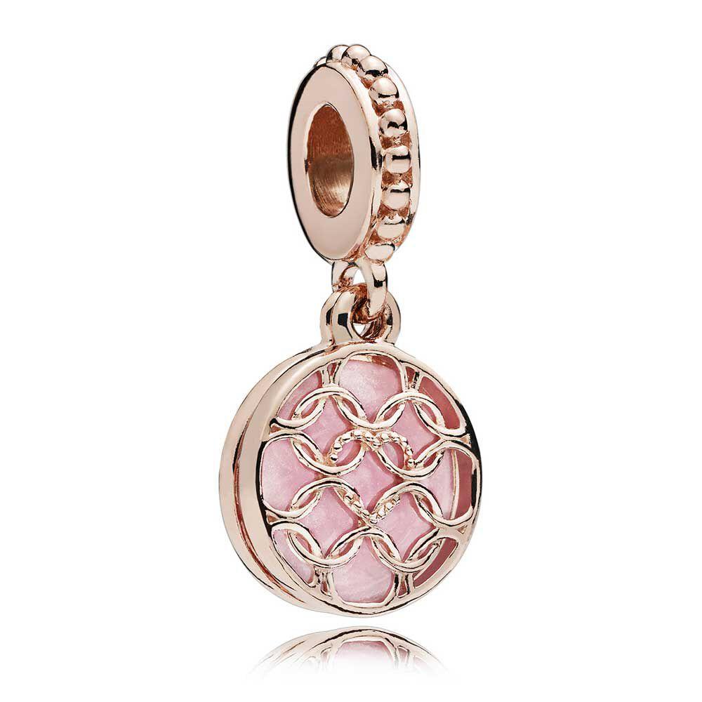 dc3526943 ... promo code for pandora rose pattern of love enamel dangle charm 2219e  31fd9 get pandora rose gold symbol ...