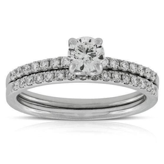 Classic Diamond Wedding Set 14K