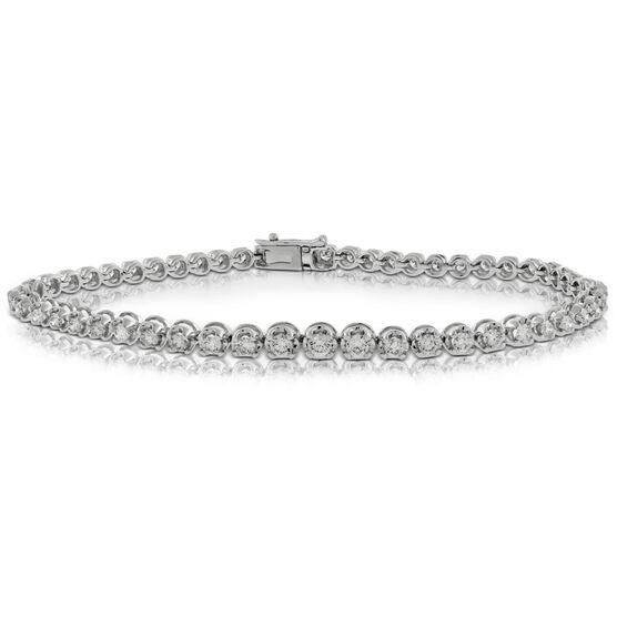 Diamond Tennis Bracelet 14K, 2 ctw.