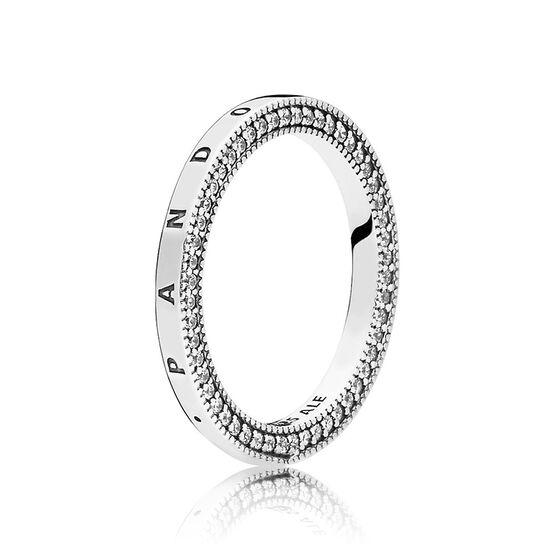 Pandora Signature Hearts of Pandora CZ Ring