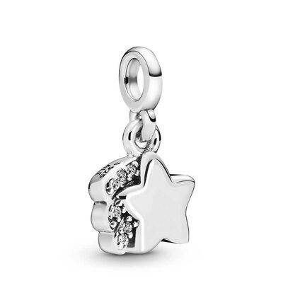 Pandora Me My Shooting Star CZ Dangle Charm