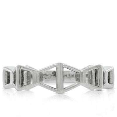 Lisa Bridge Trapezoid Ring