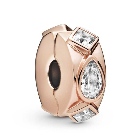 Pandora Rose™ Geometric Shapes Clip Charm