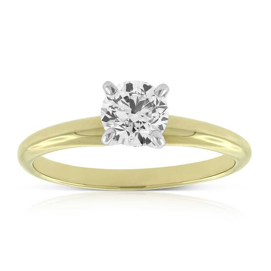 Ikuma Canadian Diamond Ring 14K, 3/4 ct.