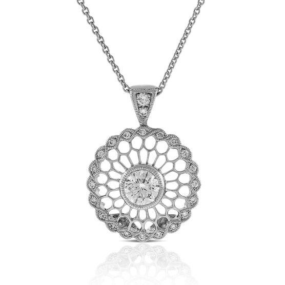 Signature Forevermark Diamond Mandala Necklace 18K, 1/4 ct.