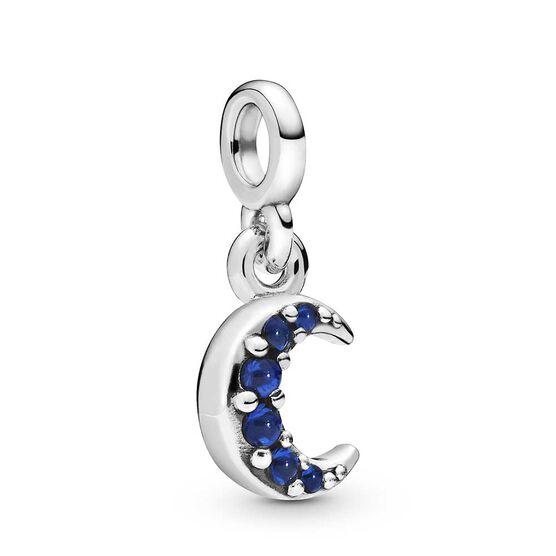 Pandora Me My Moon Crystal Dangle Charm