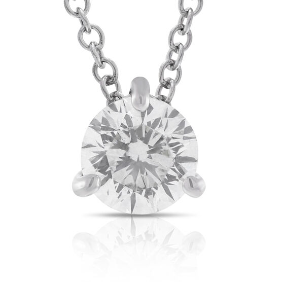 Signature Forevermark Diamond Pendant 18K, 1/2 ct.