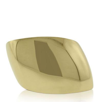 Roberto Coin Slanted Dome Ring 18K