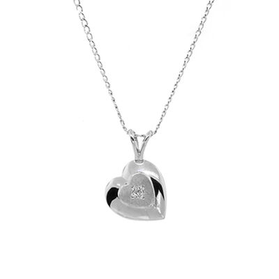 Baby Pendant in Sterling Silver