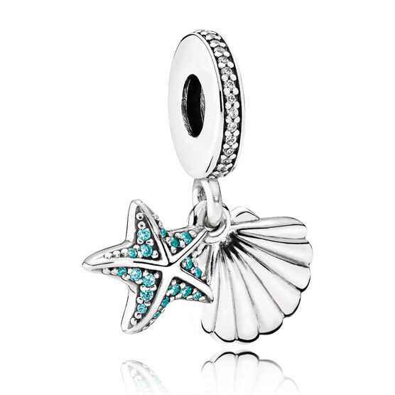 Pandora Tropical Starfish CZ Charm