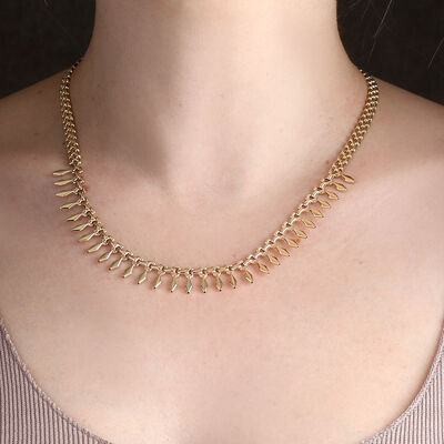 Toscano Cleopatra Necklace 14K