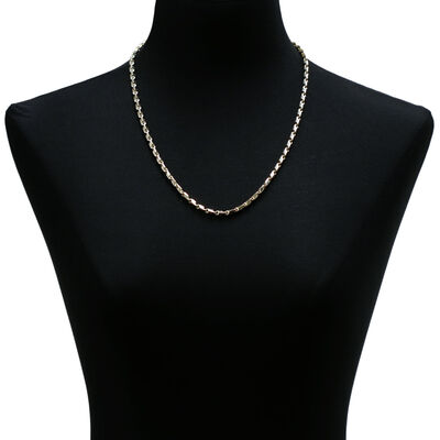 Toscano Link Necklace 14K, 24""