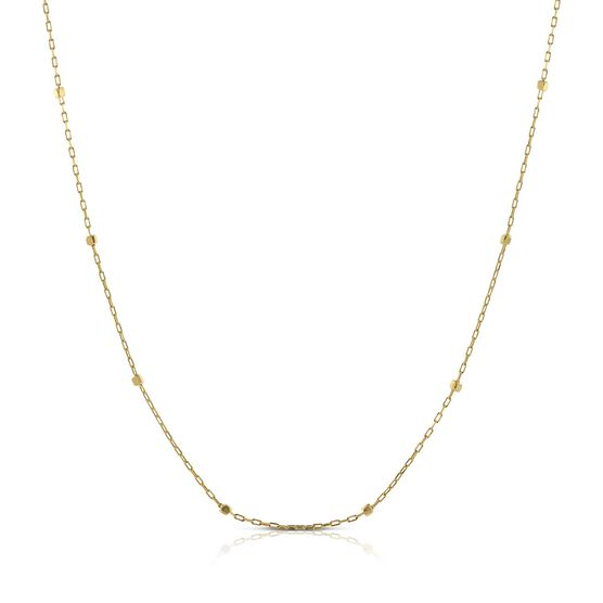 """Cube Station Chain 14K, 18"""""""