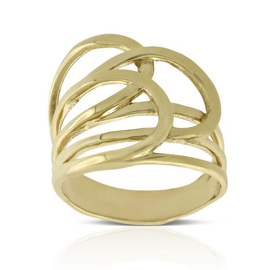 Toscano Loopy Ring 14K