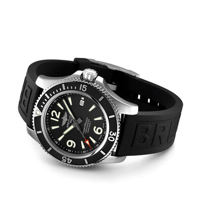 Breitling Superocean Automatic 44 Black Dial Watch