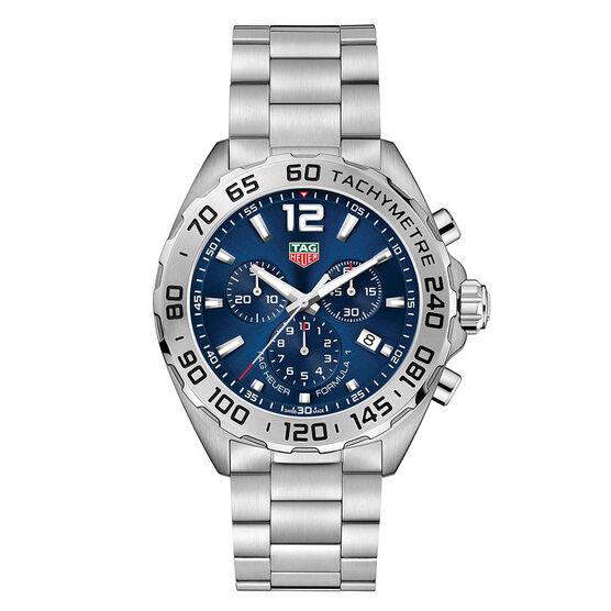 TAG Heuer Formula 1 Chronograph Blue Dial Watch 43mm