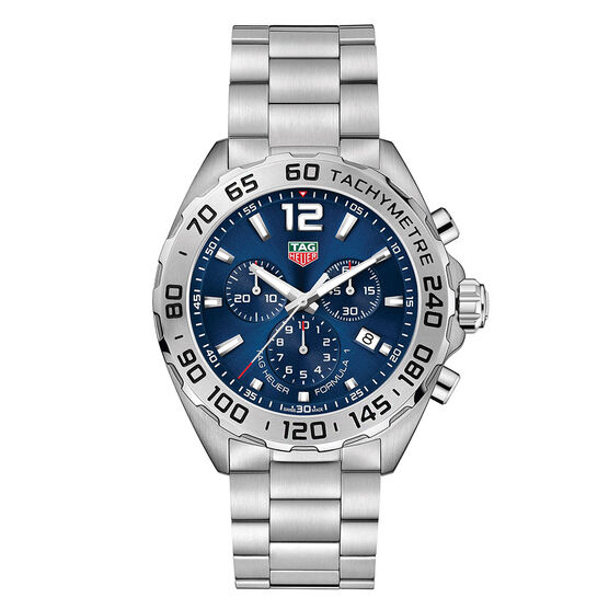 TAG Heuer Formula 1 Chronograph Blue Dial Watch 43mm
