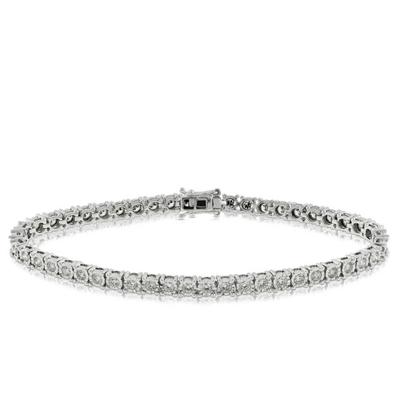 Diamond Tennis Bracelet, 14K, 2 ctw.