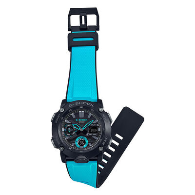 G-Shock Blue Interchangeable Band Watch