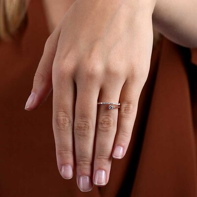Rose Gold Ikuma Canadian Diamond Ring 14K