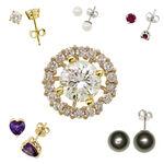 Diamond Earring Jackets 14K