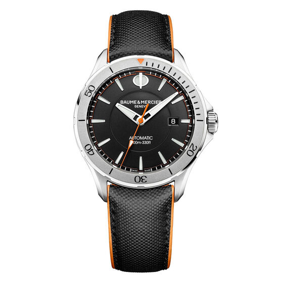 Baume & Mercier CLIFTON CLUB Black Dial Watch