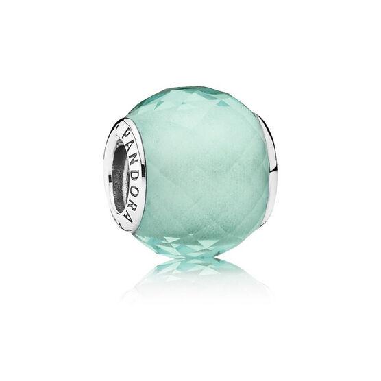 Pandora Green Petite Facets Charm