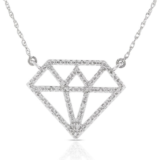 Diamond Necklace 14K