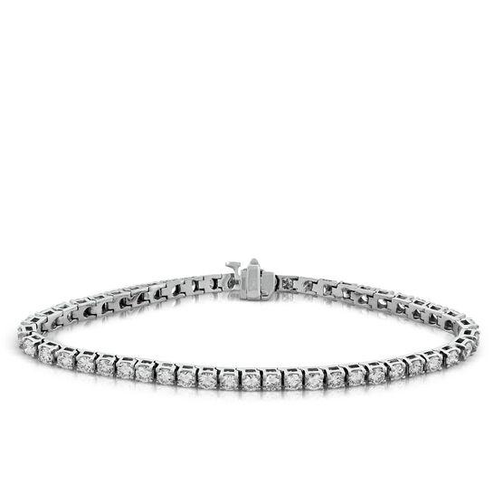 Diamond Tennis Bracelet, 14K, 5 ctw.