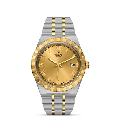 Royal 38mm Steel and Gold