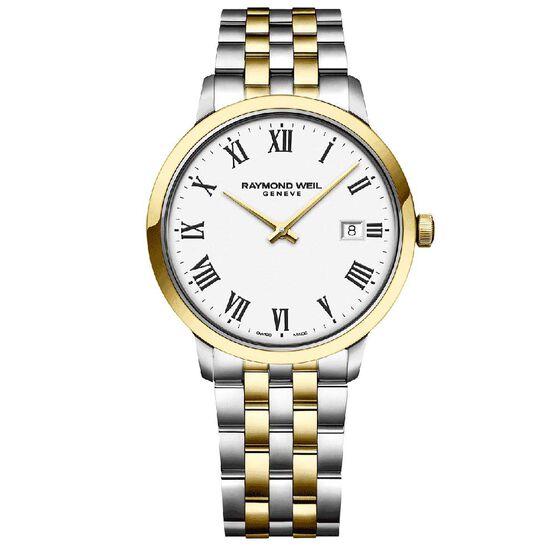 Raymond Weil Toccata Two-Tone Quartz Watch, 39mm