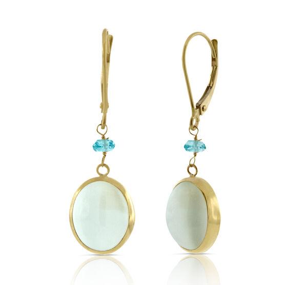 Gemstone Earrings 14K