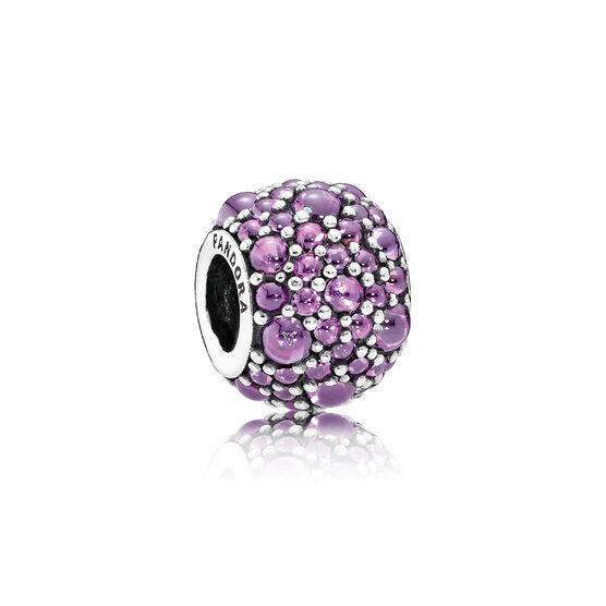 PANDORA Purple Shimmering Droplets Charm